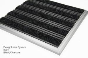 Design Links Inlay Black/Charcoal Sytem
