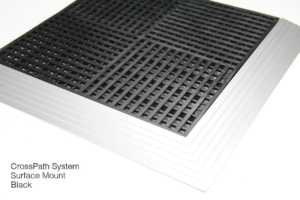 CrossPath Floor Mat System in Black