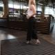 DesignPro low-profile floor mat for pedestrian walkways