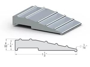 "Pro Ramp ¼""x1½"" SpaceLinks - Aluminum Transition"