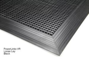 Black PowerLinks Heavy Duty Floor Mat