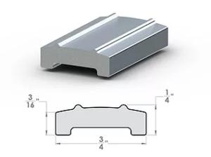 "Pro Divider ¼""x ¾"" SpaceLinks - Aluminum Transition"